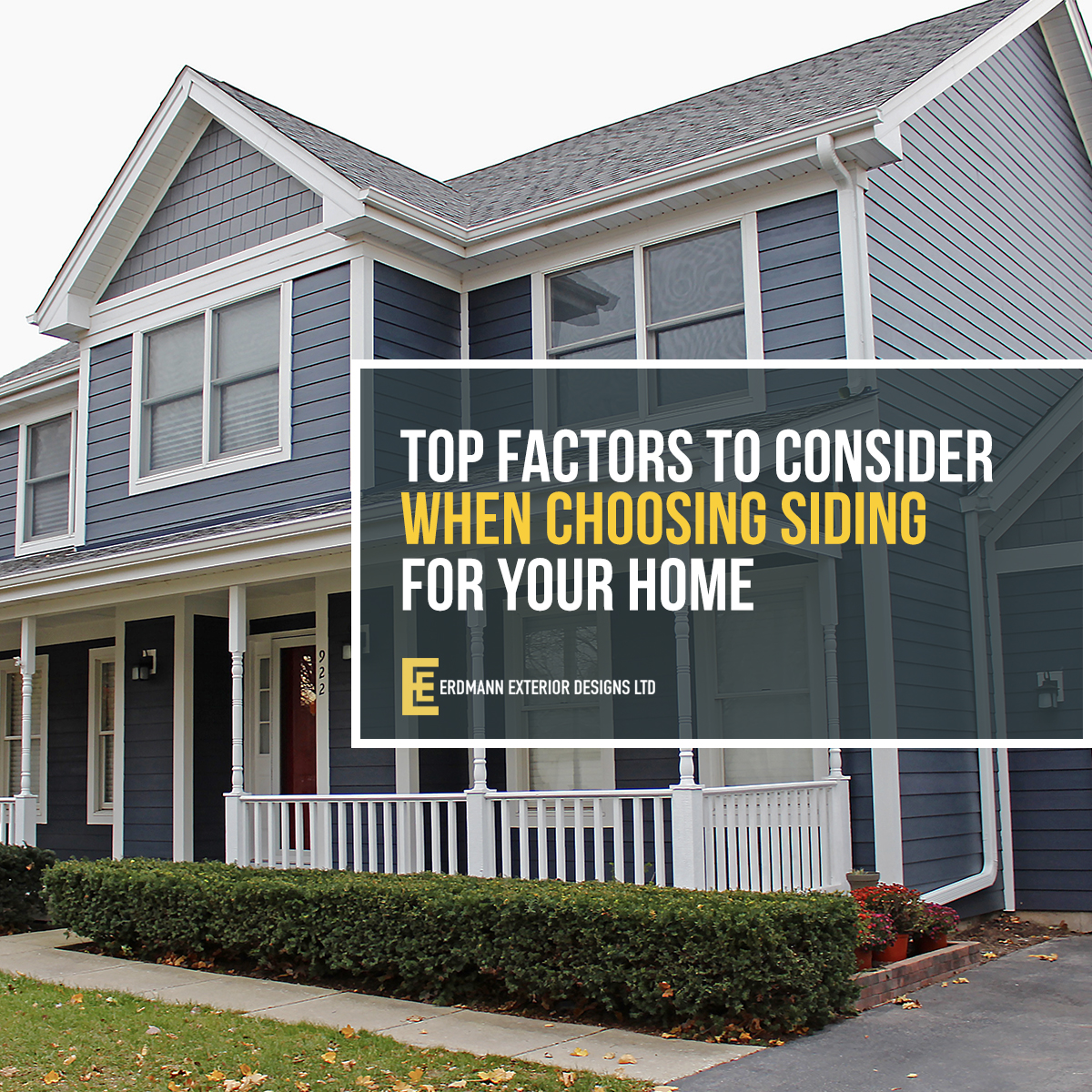 When It Comes To Your Home S Exterior The Type Of Siding You Select Is One Most Important Decisions Will Have Make