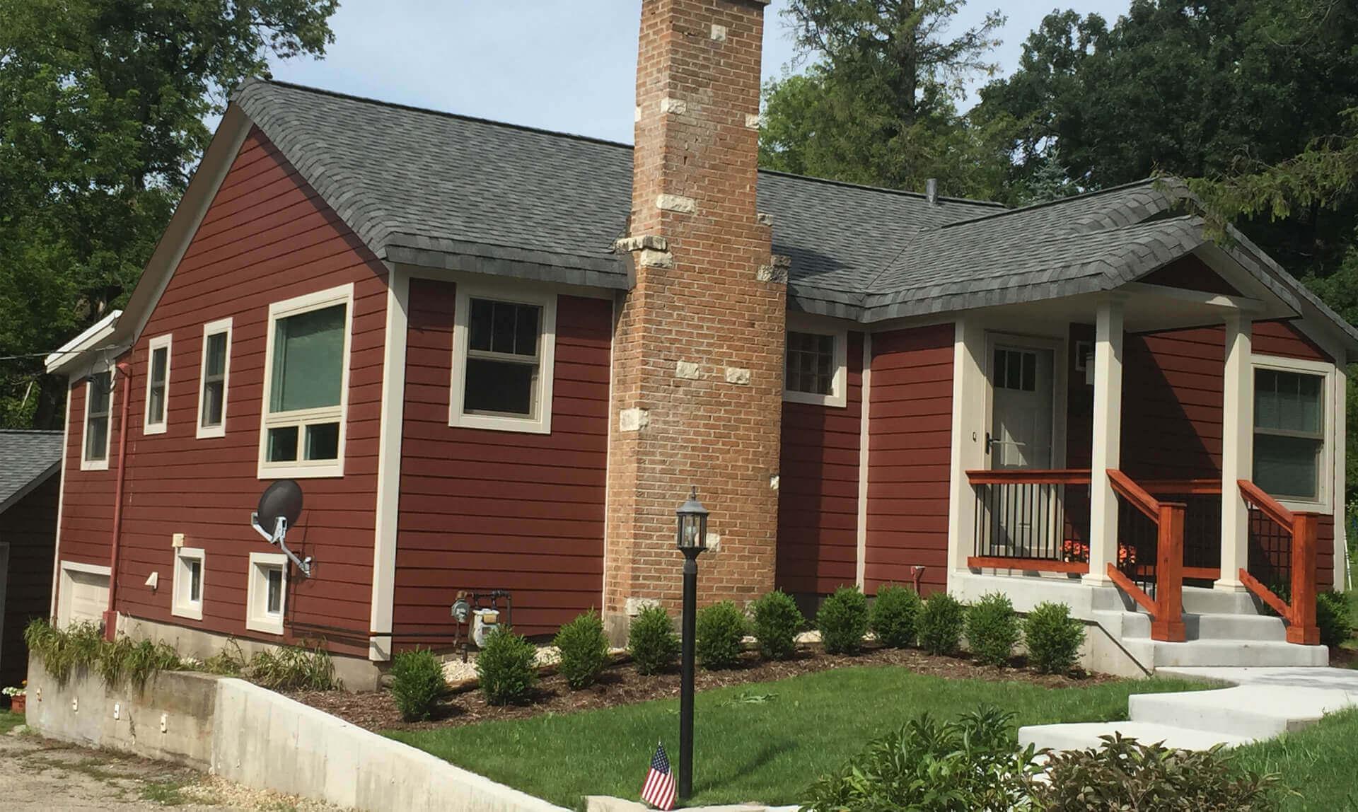 Algonquin exterior remodel erdmann exteriors construction for Exterior remodeling specialists