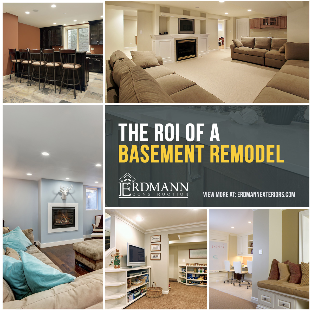 Roi Of A Basement Remodel Chicago Suburbs Remodeling