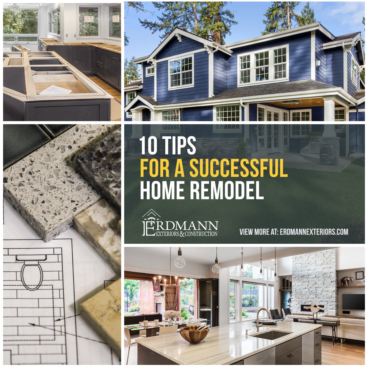 Arlington Heights Home Addition: 10 Tips For A Successful Home Remodeling