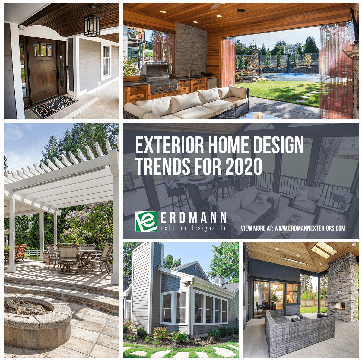 Exterior Home Design Trends For 2020 Erdmann Exteriors